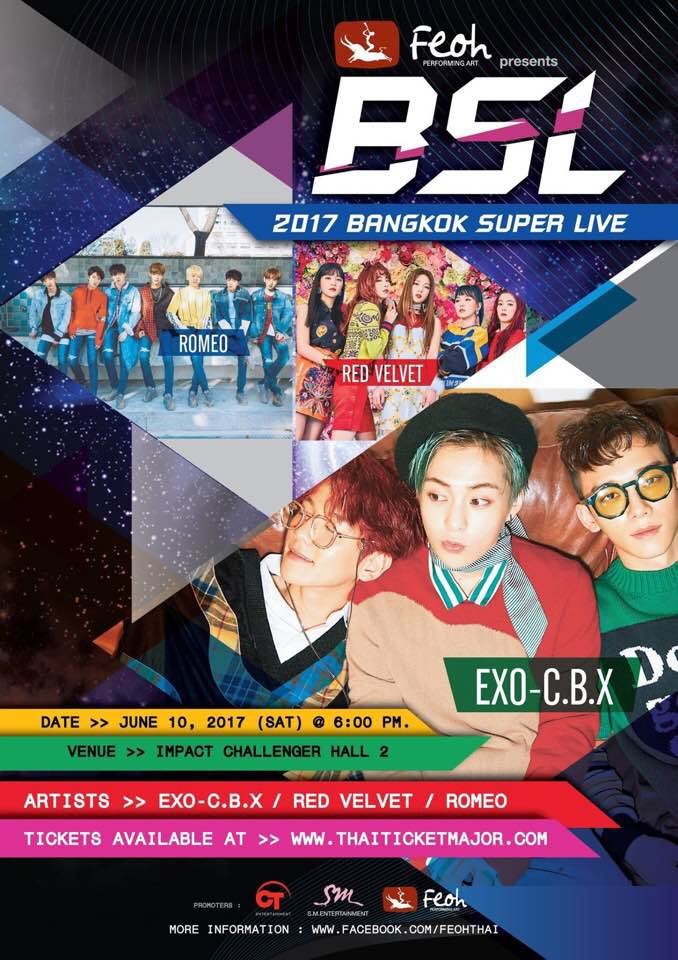 [INFO] EXO-CBX to perform at 2017 Bangkok Super Live on 10 June 2017.