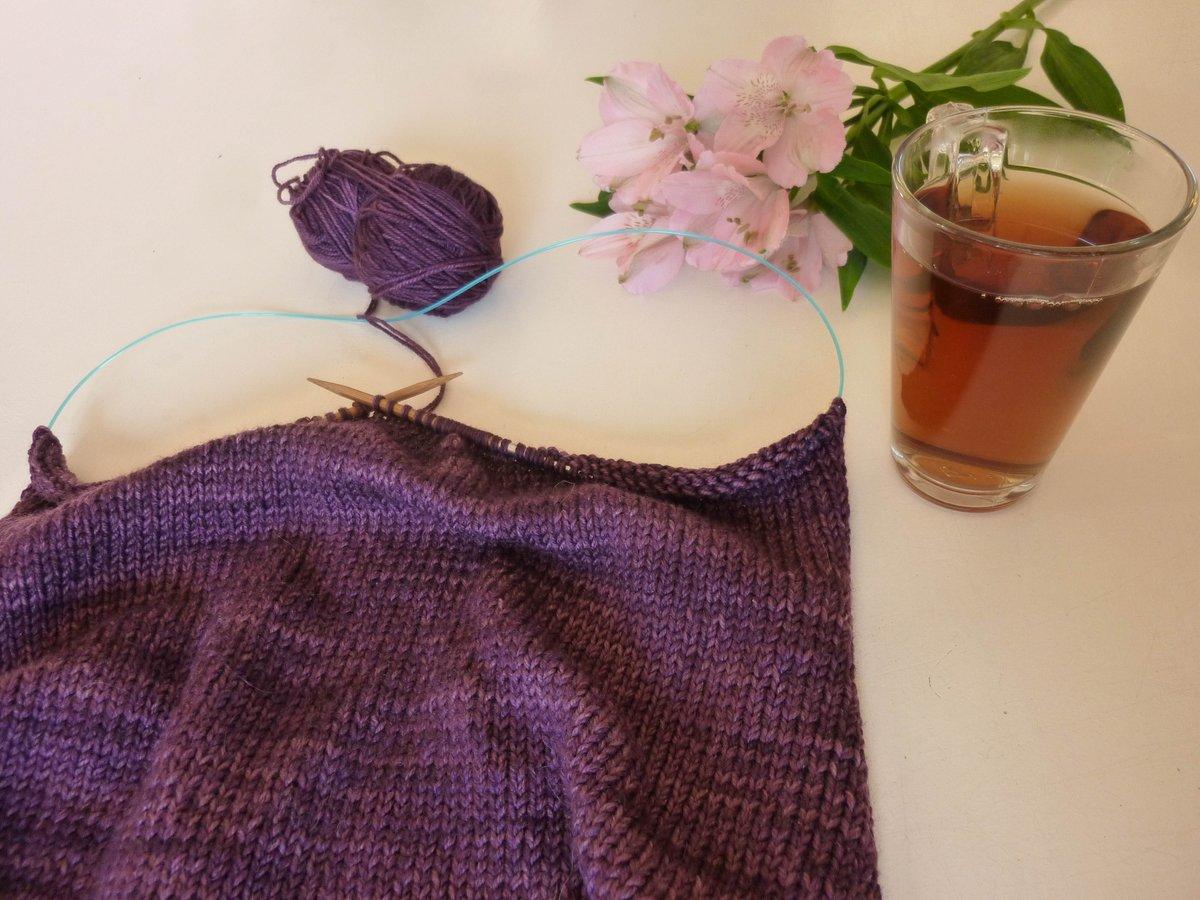 Beautiful morning  Working on my first jumper in Alegria   http://www. yarnz.eu/c-3686831/aleg ria/ &nbsp; …   #alegria #fairtrade #handdyed #yarn #knitting #hiyahiya<br>http://pic.twitter.com/iScQ3VQ08k