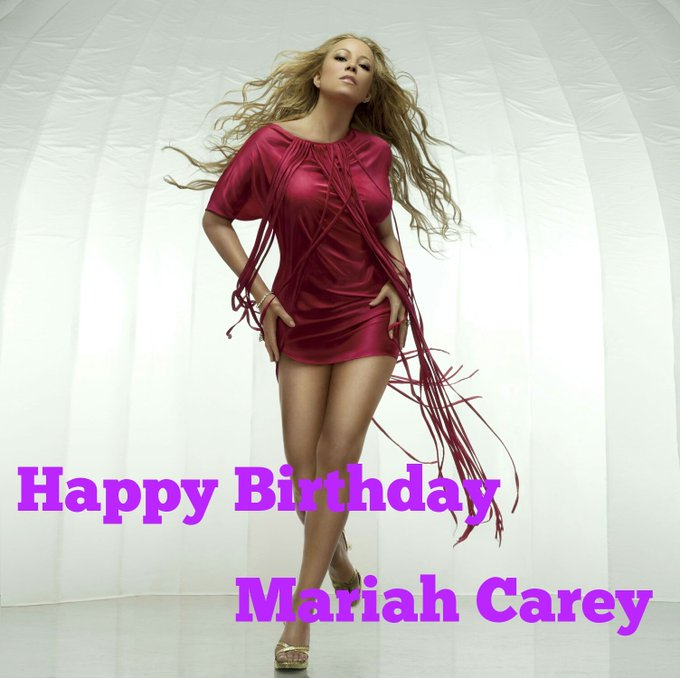 Happy birthday Mariah Carey..