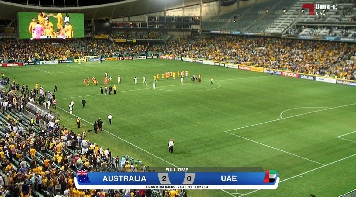 أهداف مباراة استراليا و الامارات