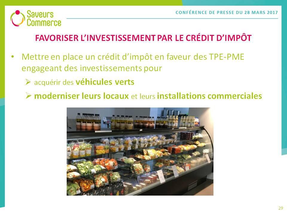 Jean-Pierre Bellet, administrateur @SaveursCommerce : favoriser l&#39;investissement par le crédit d&#39;impôt en faveur des TPE-PME #commerce <br>http://pic.twitter.com/rvQVjbaf1O