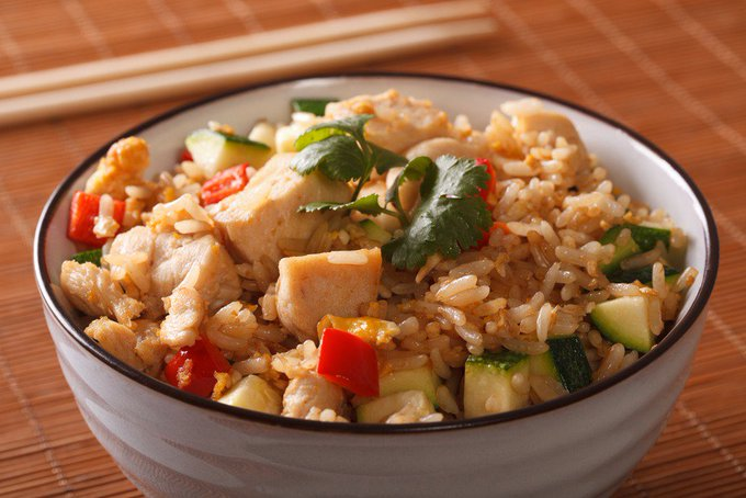 Instant Pot Thai Turkey Fried Rice