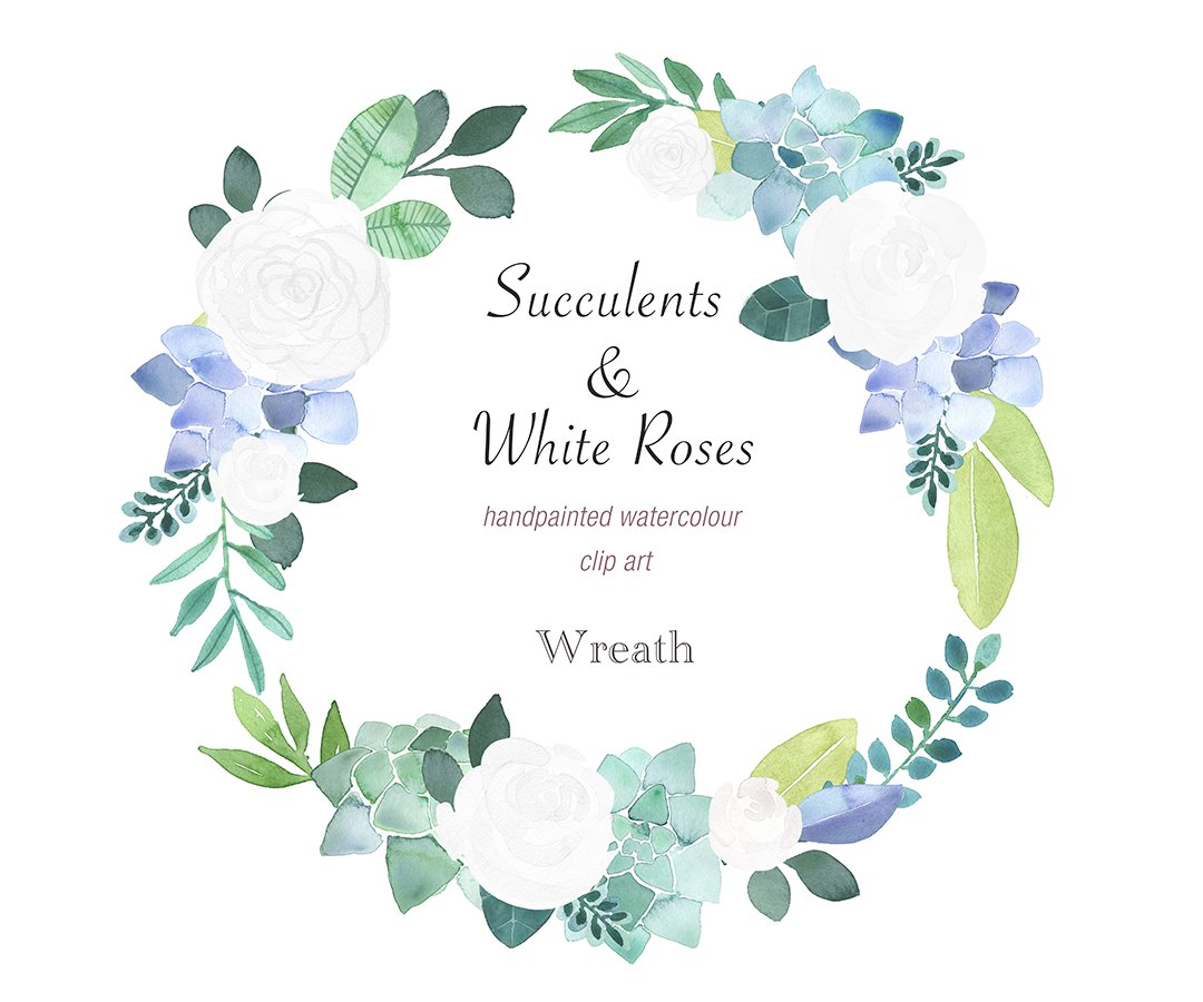 Anna On Twitter Succulent Floral Wreath Watercolour Hand By Papersundesign Https T Co Qfpbbweelf Succulents Wreath Watercolor Watercolour Clipart Https T Co Wlrfgkc3ha
