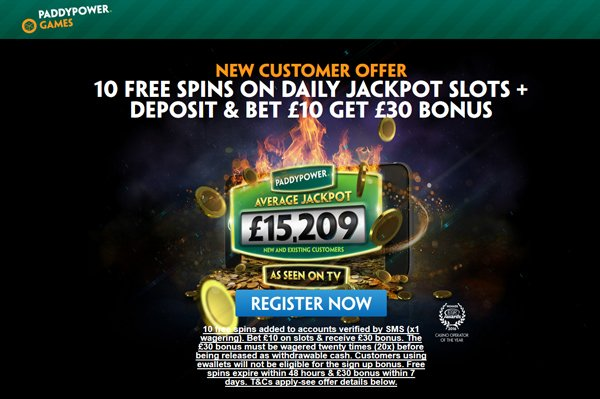 Paddy Power Games No Deposit Free Spins