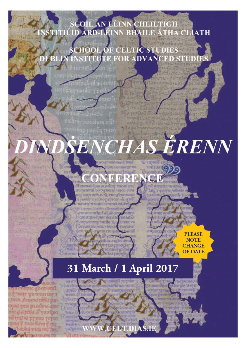test Twitter Media - #Dindshenchas Érenn conference takes place this week.  Friday 31st & Sat 1st @DIAS_Dublin https://t.co/XJVqv7YdUh https://t.co/7lV1WKji1j