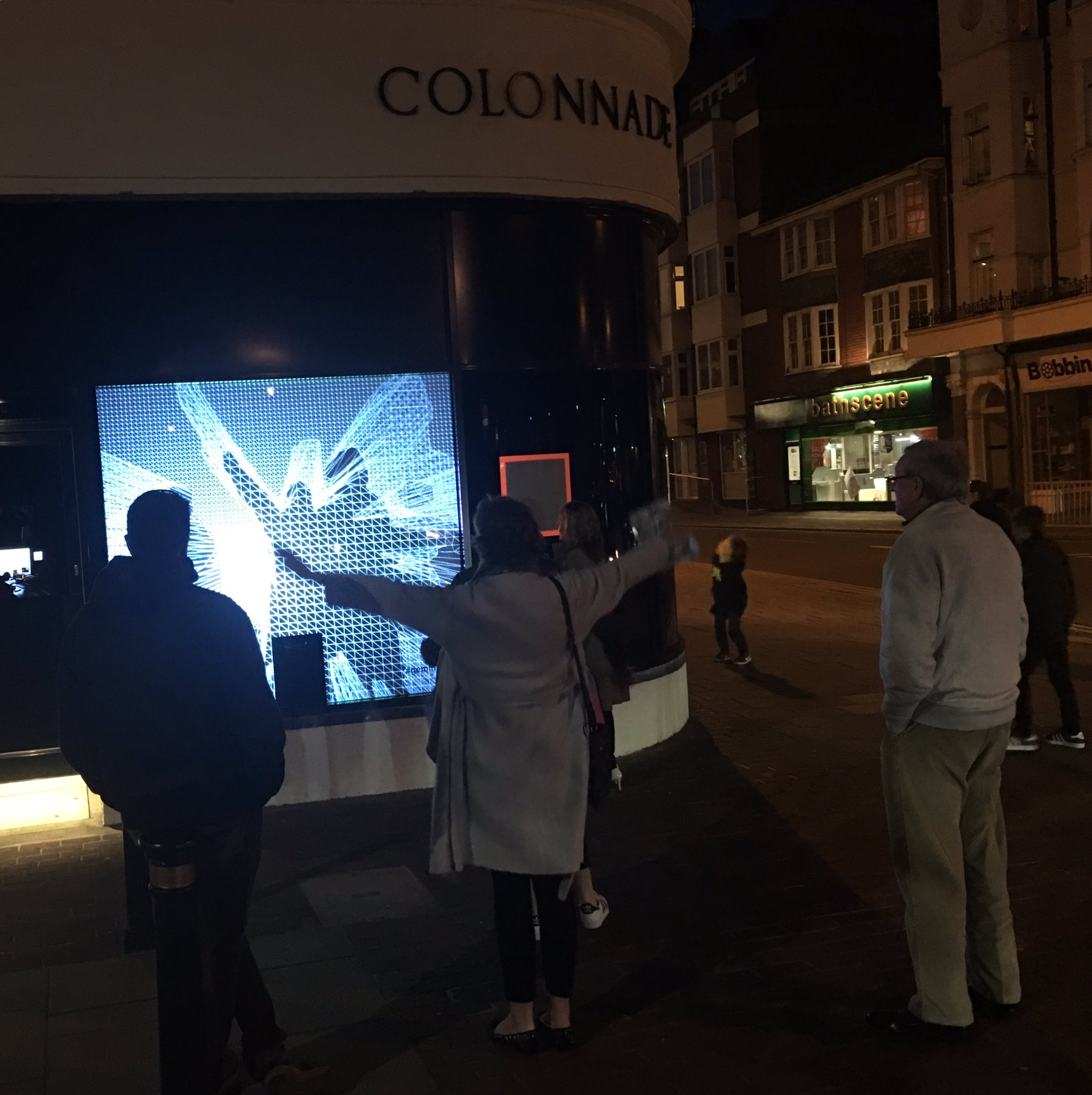 Fri & sat 7-10pm join choreographer Jen Irons to explore playfulness & creative interaction #geminate #publicart @ColonnadeHse @makeAMPLIFY https://t.co/ISO0eruxA3