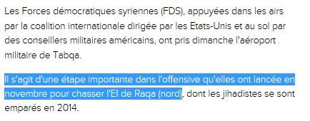#Syrie Reprise de l&#39;aéroport militaire de Tabqa : une étape importante dans l&#39;offensive contre #daech   http://www. lexpress.fr/actualites/1/m onde/combats-dans-le-nord-syrien-apres-la-prise-d-un-aeroport-a-l-ei-ong_1893004.html &nbsp; … <br>http://pic.twitter.com/kYCTHVz6OP