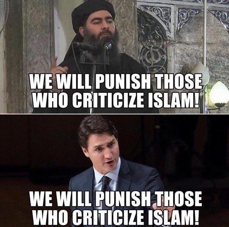 #Trudeau en harmonie avec l&#39;#EtatIslamique... <br>http://pic.twitter.com/SadkAyJljG