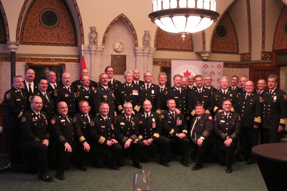 Awesome first day with @CdnFireChiefs discussing key topics with MP's...