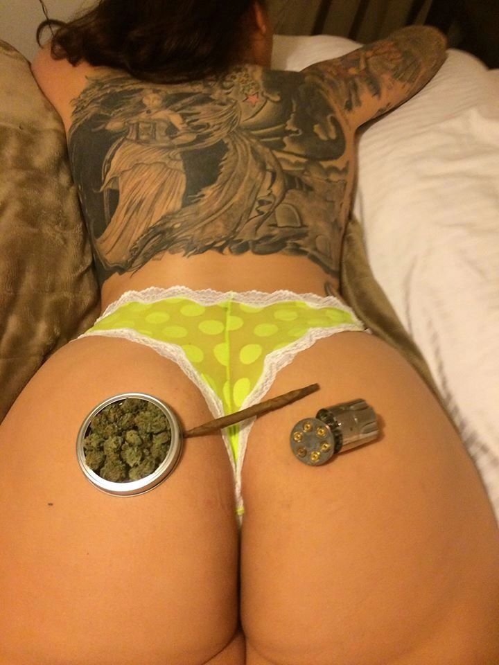 Weed girls porn clip