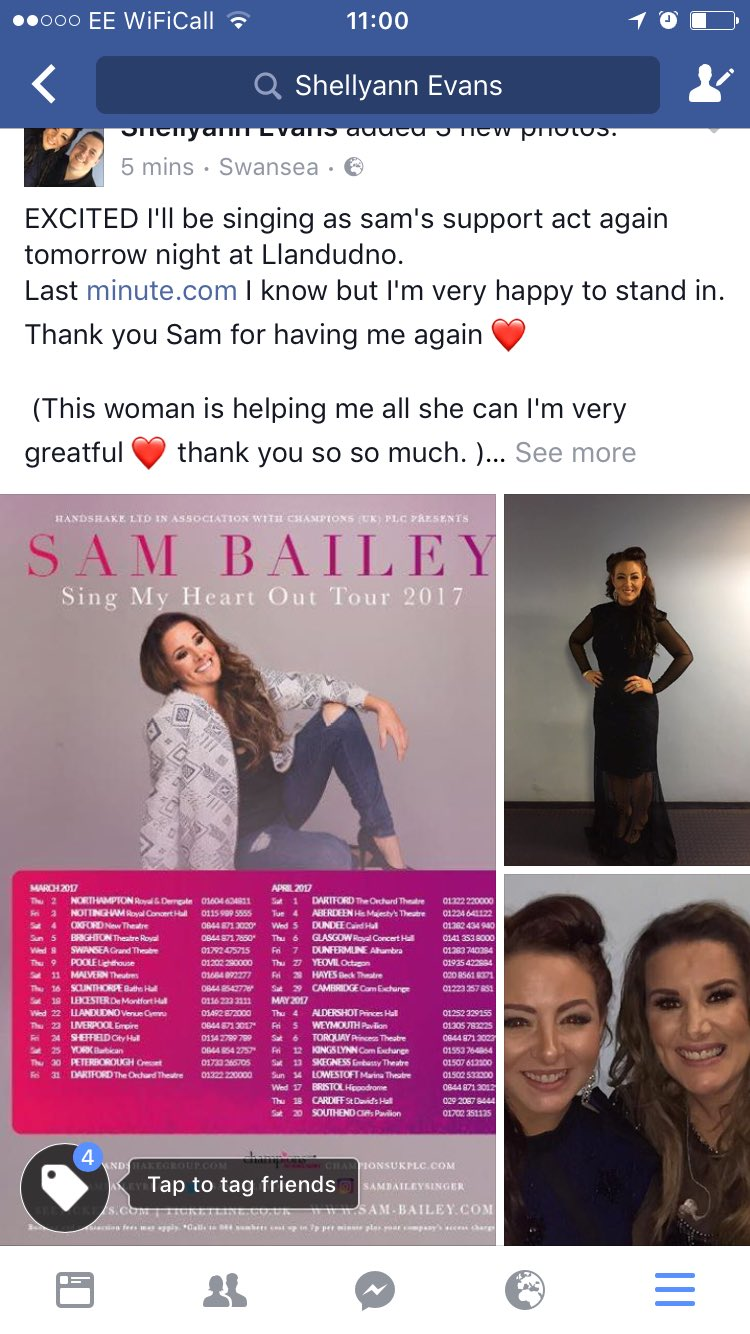 RT @shellyannmusic: Who's coming @SamBaileyREAL  I'm so excited again!! ❤ https://t.co/gzAqEgNBqo
