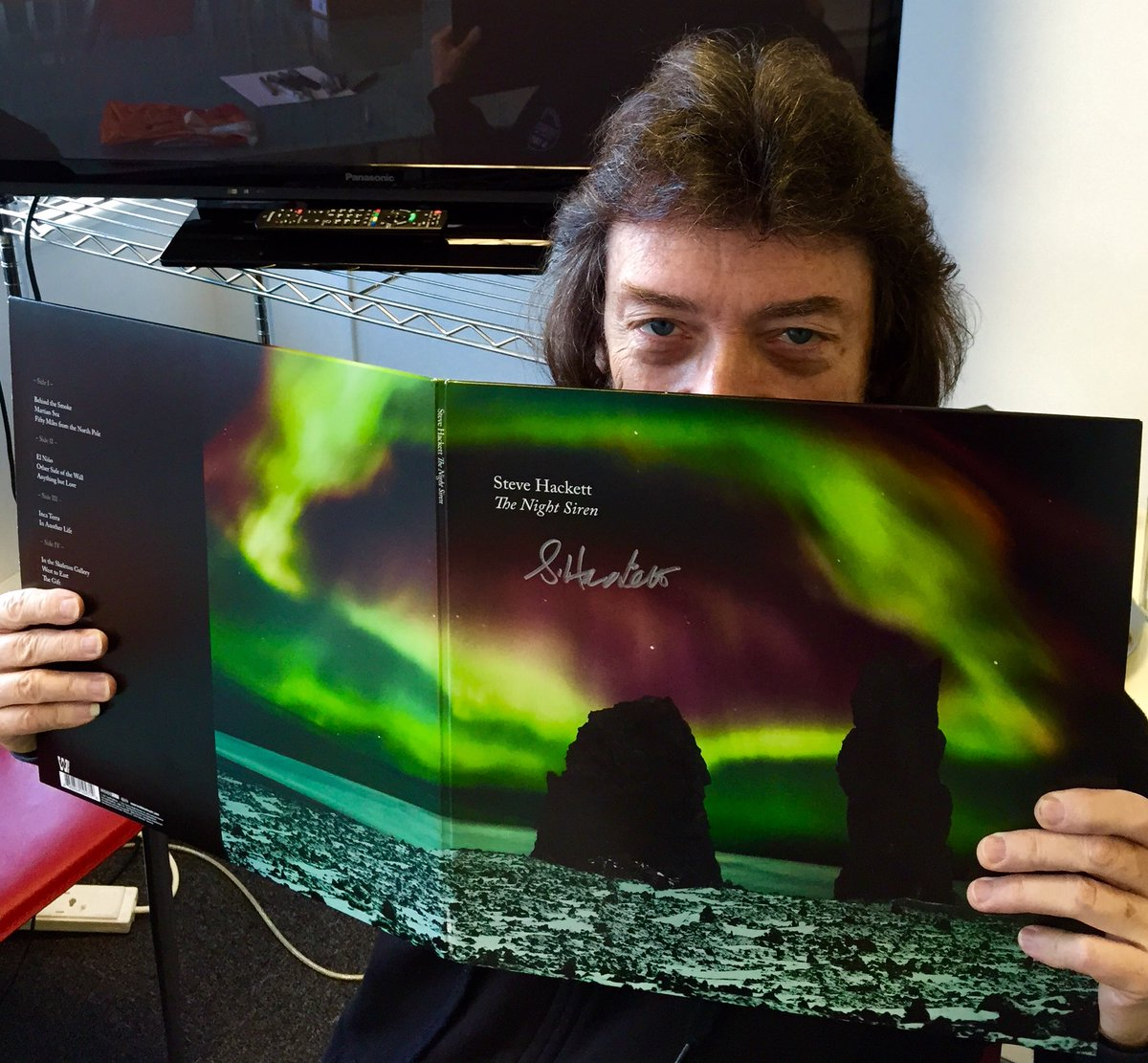 Steve Hackett On Twitter My New Album The Night Siren Is Out This