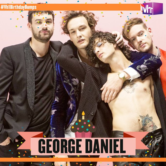 Happy birthday GEORGE DANIEL! Tune in at 12 PM for