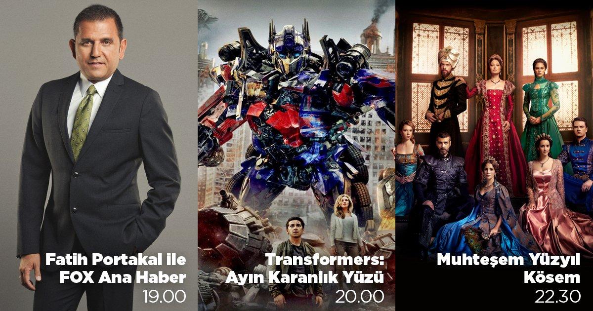Haberlerin ardından önce #Transformers #AyınKaranlıkYüzü sonra #Muhteş...