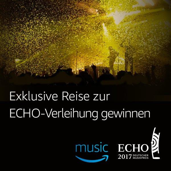 Amazon Music Unlimited schickt euch zur diesjährigen Echo Preisverleihung >>> https://t.co/K0bIF7nGfa https://t.co/W4x1DxRDhk