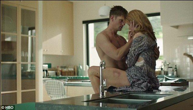 Nicole Kidman Intense Sex Scene Shirtless Alexander