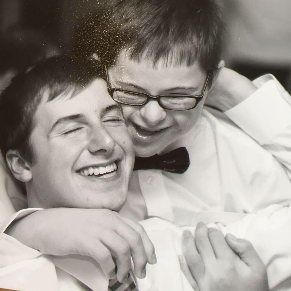 #worlddownsyndromeday  Side affects may include Euphoria, an unbreakable brotherly bond & Pure joy bursting forth like a comet. https://t.co/z1neO6QVs5