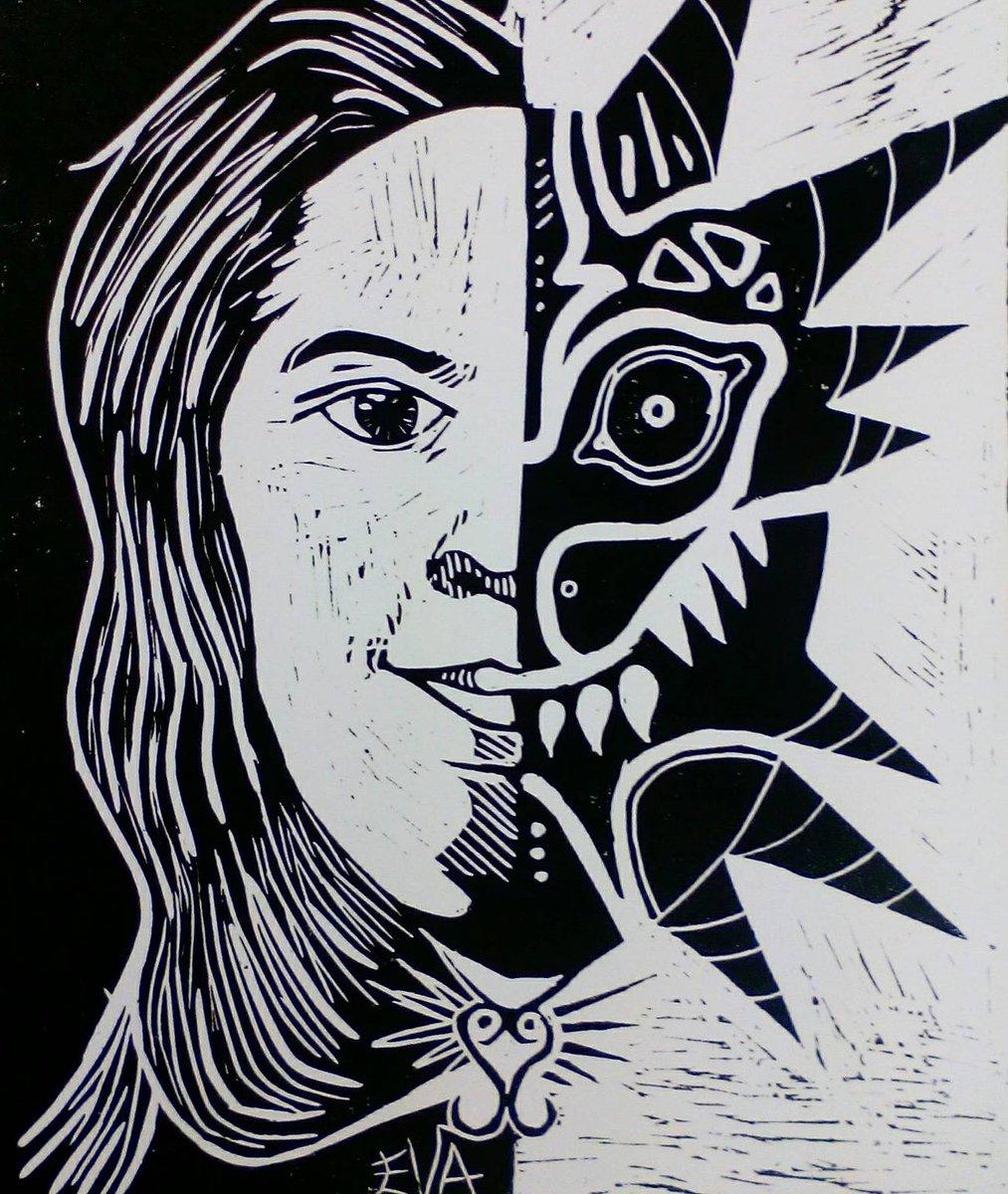 #linoleum #linoleo #grabado #selfportrait #autorretrato #praga #praha #prague #lovepraga #erasmus #erasmusplus #work<br>http://pic.twitter.com/uVlXVgoROE
