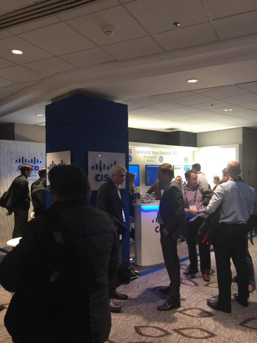 #MPLSWC17 - trending at the show floor #SR #SDWAN #automation #Orchestration <br>http://pic.twitter.com/S3tSVHxfVJ