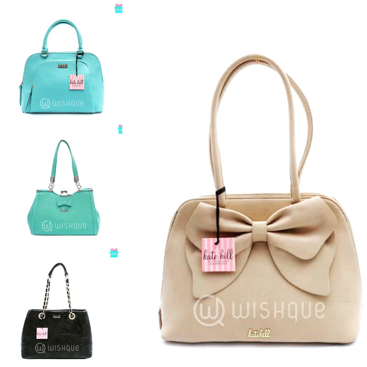 Wishque On Twitter Australian Designer Original Kate Hill Handbags Are Now 20 Off Branded Available For Island Wide Delivery