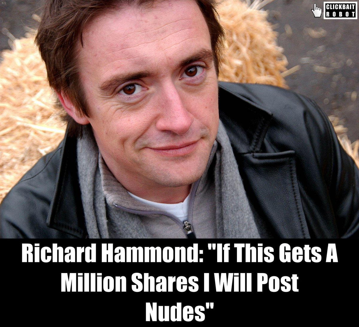 Richard Hammond: 'If This Gets A Million Shares I Will Post Nudes' #RichardHammond