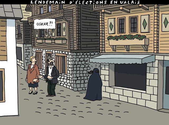 Le #dessin du jour de Herrmann @tdgch : &quot;Lendemain d&#39;élections en #Valais ... &quot;   #VS17 #freysinger #freyexit #wallis #Suisse<br>http://pic.twitter.com/QNt9aZesyw