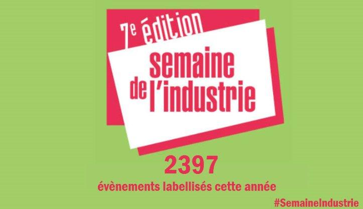 """Thumbnail for """"La Semaine de l'Industrie"""" 2017 #AvecPôleEmploi"""