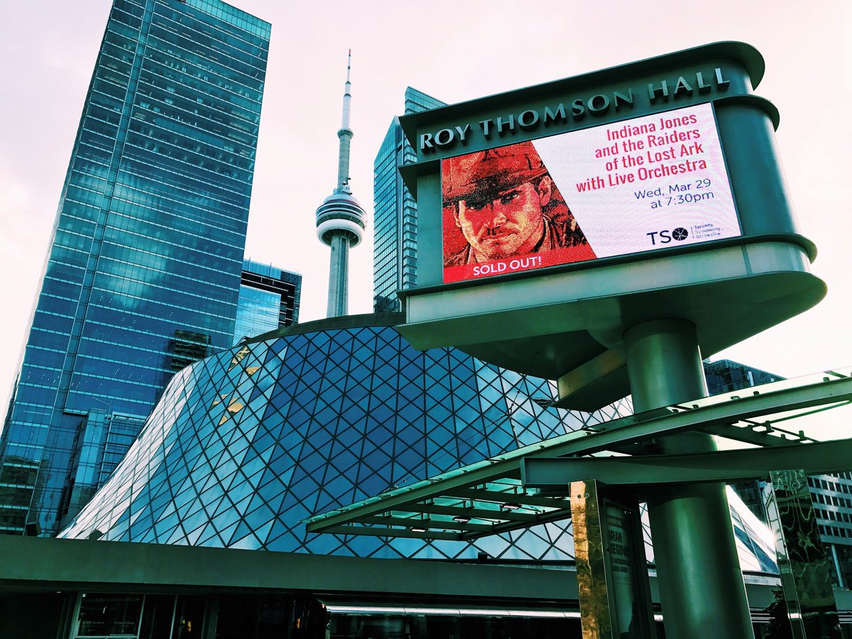 Closer look at the brand new LED screen up at Roy Thomson Hall!  #roythomsonhall #icondigital #iconmedia #allthingsvisual