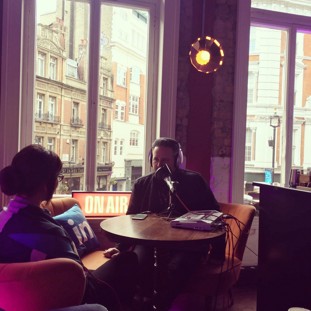 Live from #AWEurope the Sophisticated Marketer's Podcast hosted by @Ja...