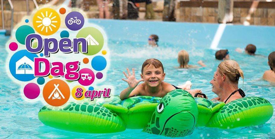 Op zaterdag 8 april stellen wij al onze vakantieparken open tijdens de Open Dag. Kom jij ook? Toegang is gratis! #vakantie #testen #gasten