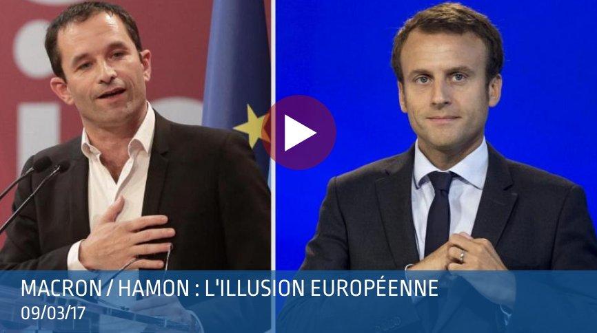 &quot;#Hamon et #Macron vont être dans l&#39;impossibilité de réformer la #ZoneEuro de l&#39;intérieur&quot; ➤  https:// goo.gl/DQ3y9n  &nbsp;   #OrwellTV<br>http://pic.twitter.com/tft1Oe6aT5