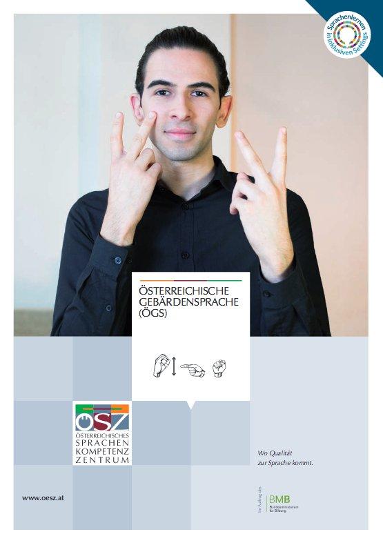 Folder des ÖSZ zur Österreichischen Gebärdensprache, Gratis-Download:...