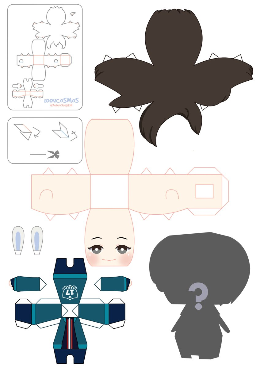 1004cosmos On Twitter This 3d Jeonghan Paper Doll Is Available
