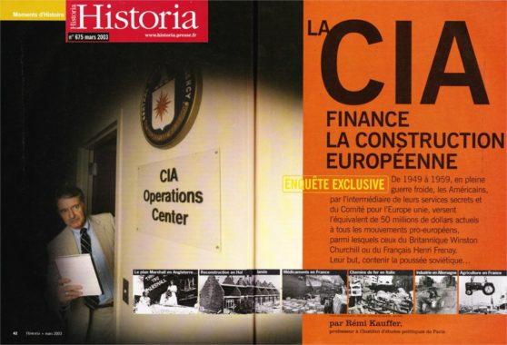 #Presidentielle2017 Oui,la #CIA a financé la construction européenne. histoire , à lire pour ne plus se faire avoir  https://www. les-crises.fr/special-histor ia-oui-la-cia-a-finance-la-construction-europeenne/ &nbsp; … <br>http://pic.twitter.com/bAbmQdd4oU