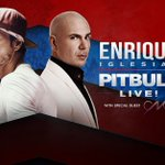"""Presale tickets for the #PitbullEnriqueTour will be available at at 10 AM. Click https://t.co/wEsMEkIk53 and use the code """"climate"""""""