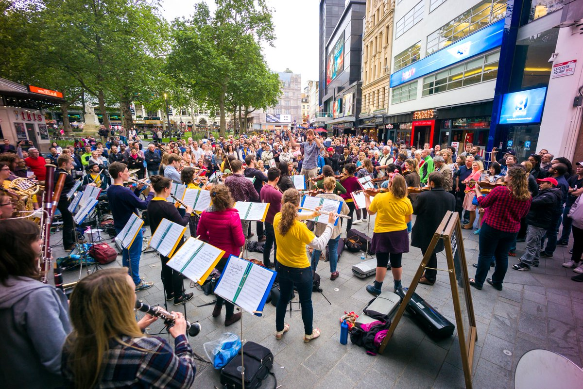 We&#39;re touring London, Croydon &amp; Brighton during the Easter bank holiday (13-16 April). Join us!  http:// bit.ly/2n3py0h  &nbsp;   #popup #orchestra <br>http://pic.twitter.com/SFDm4GalIK