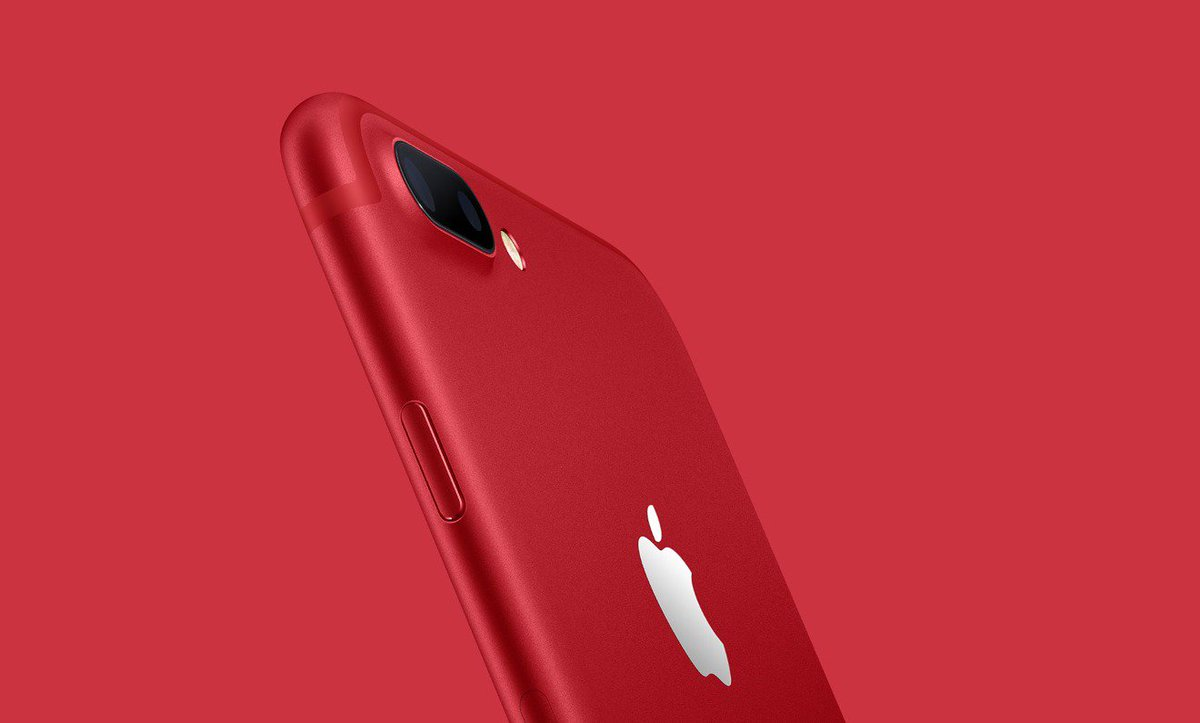 Apple launches special edition (Product)Red iPhone 7 https://t.co/yKeHH5nXNk