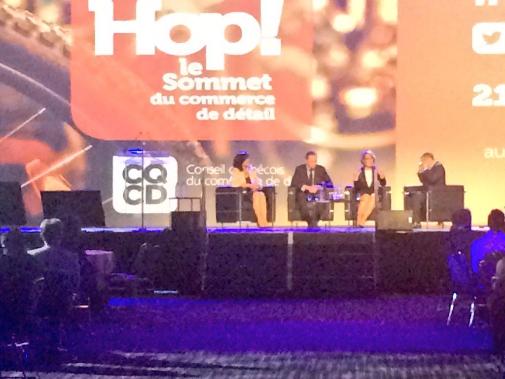 #hop17 Panel d&#39;ouverture: Des gestionnaires d&#39;influence ... @MaisonBirks @Aubainerie @DanieleH_Inc #détail #commerce<br>http://pic.twitter.com/U4KnNITFoP