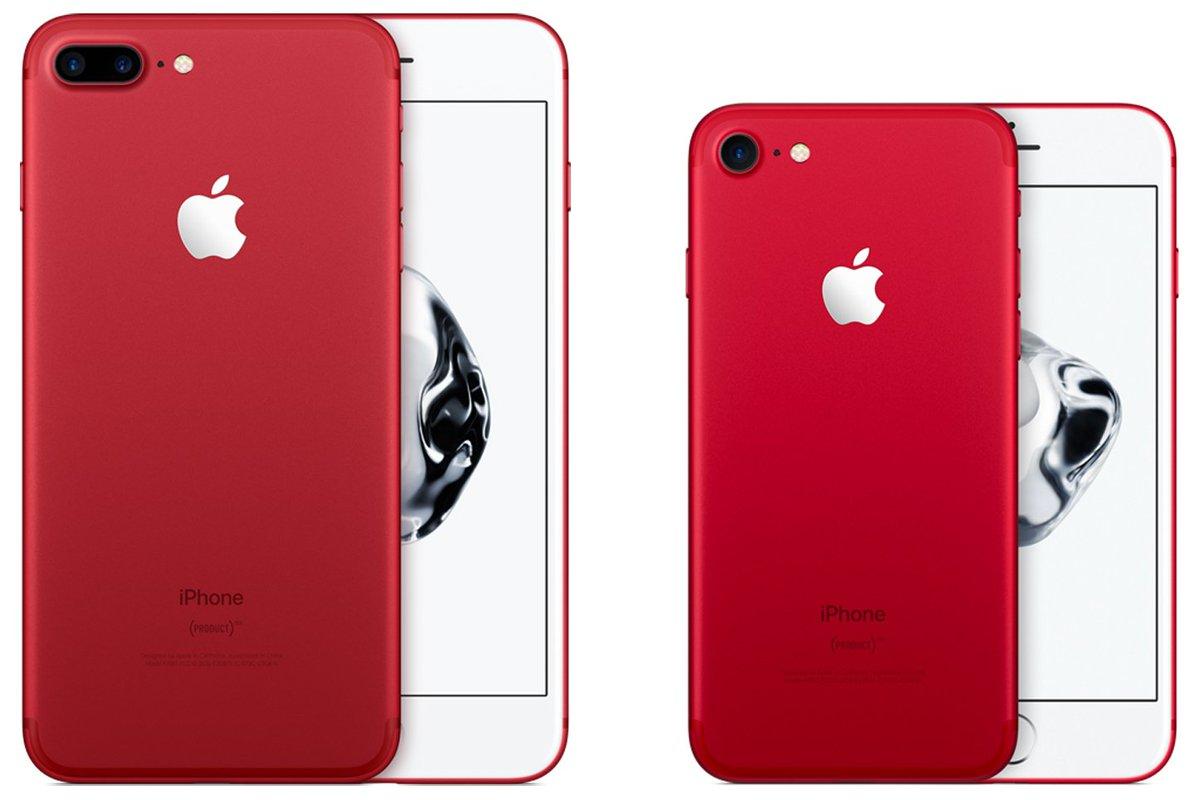 Apple revela iPhone 7 vermelho e dobra armazenamento do iPhone SE »https://t.co/QARPTnomUU