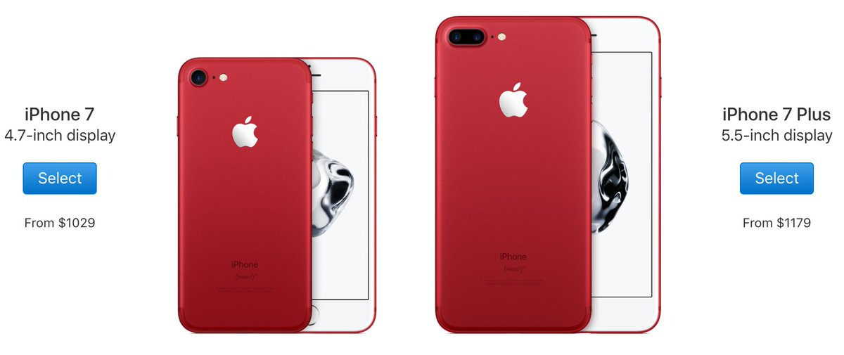 These are very pretty, but two things: blue Pixel > red iPhone, and those prices