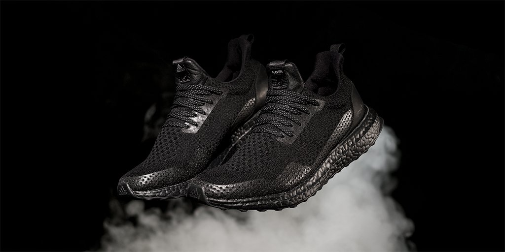 Uncaged. Unstriped. Triple black. UltraBOOST.  Optimal urban camouflage from adidas Consortium x @HAVENSHOP. April 8th at Consortium stores.