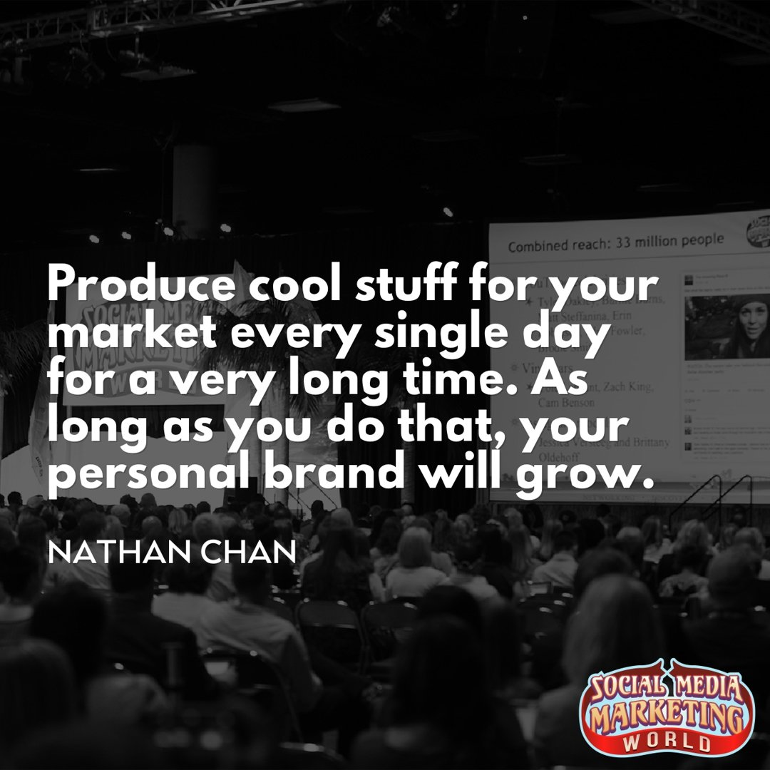 Nathan Chan @NathanHChan of @foundr on how to grow your audience https...