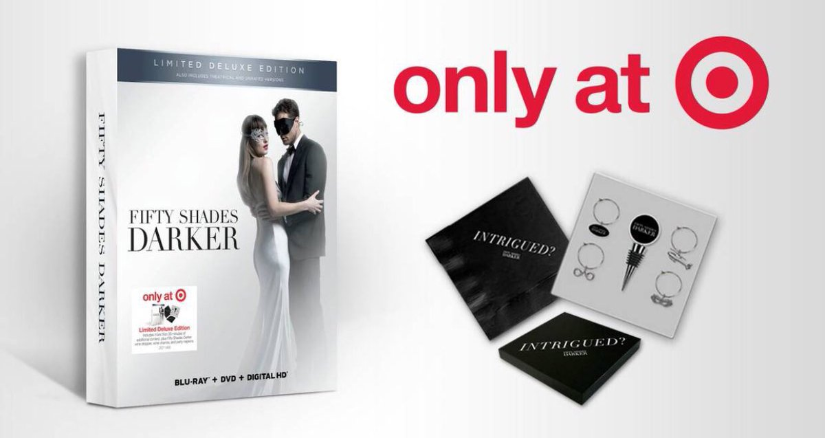 #FiftyShadesDarker limited edition with special gift is available for...