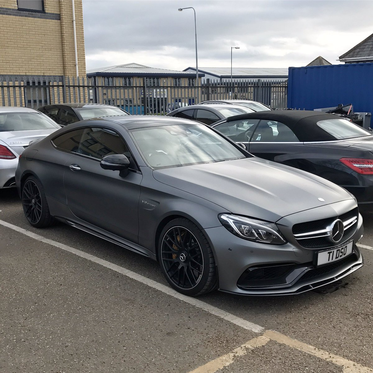 Benz on for Mercedes benz c63s
