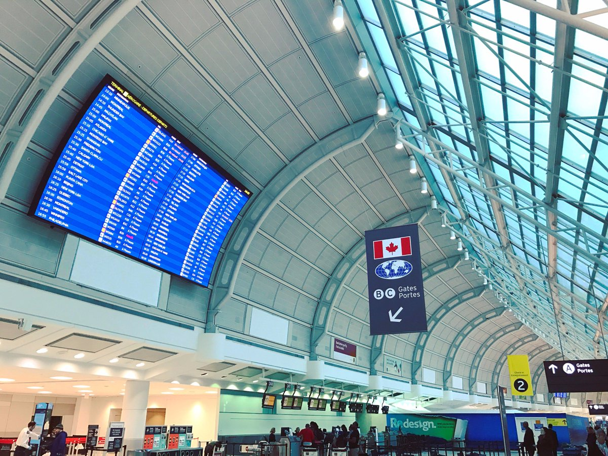 Brand new LED displays ICON Media helped install at Terminal 3 @TorontoPearson! #travel #icondigital #allthingsvisual