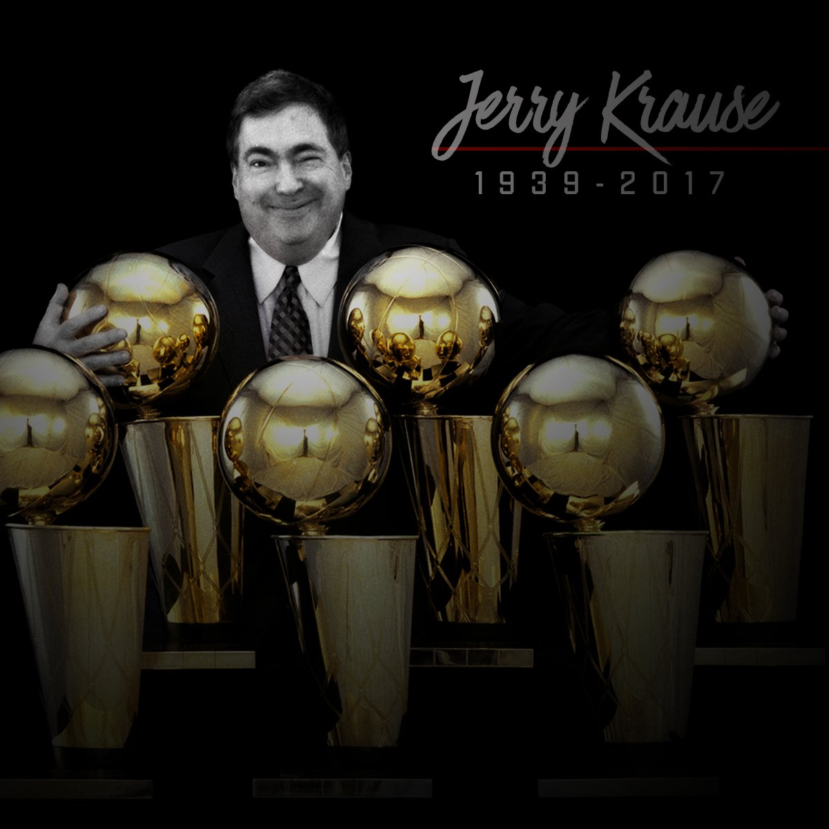 Bulls mourn the loss of Jerry Krause: https://t.co/AlCu8ITH0Y https://...