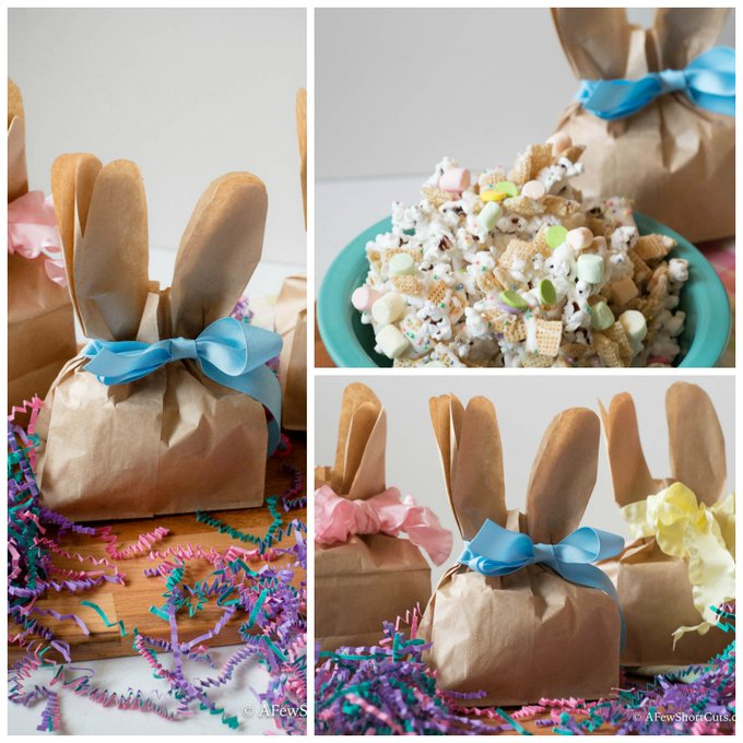 DIY Paper Bag Bunny Treat Bags