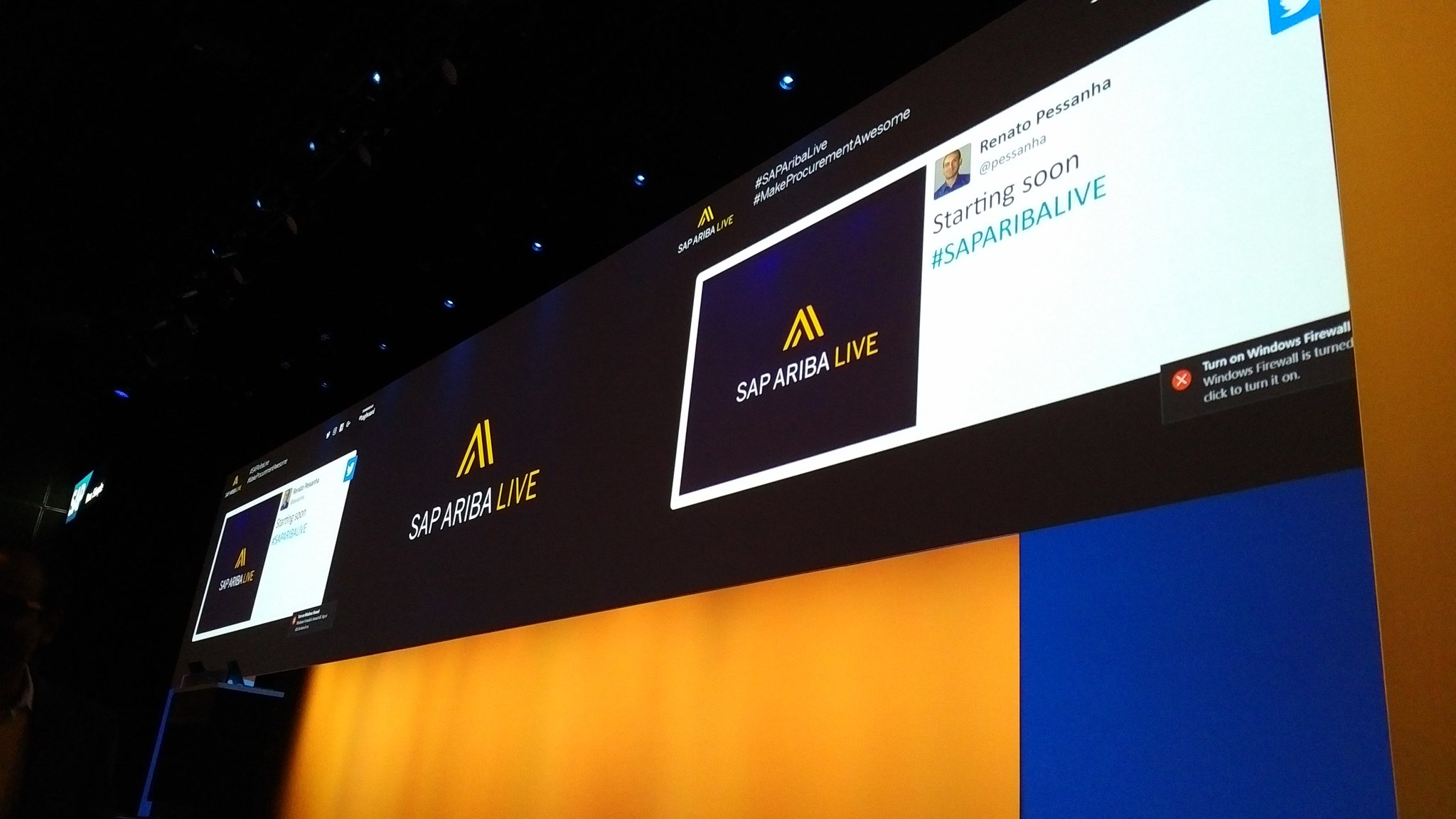 And it's is [TweetStorm]={ON} for #SAPARIBALIVE - likely sprinkled with some #IBMInterConnnect https://t.co/Bl9AxF85s5