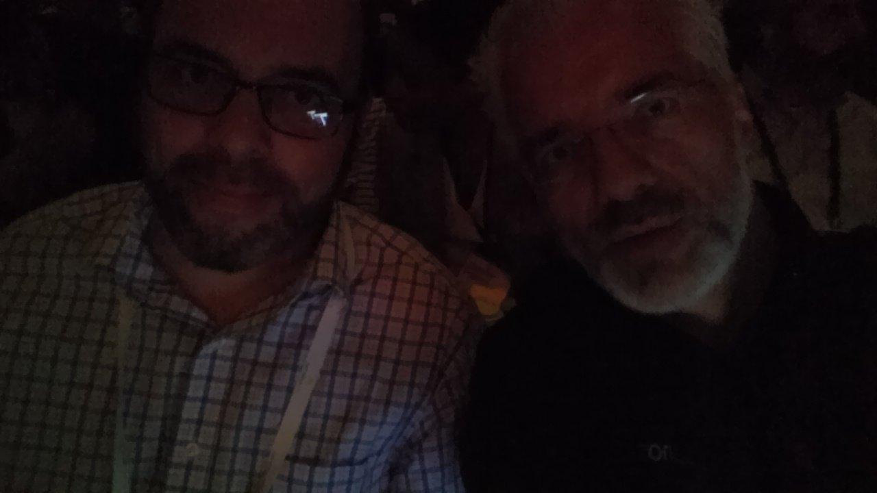 With @chriskanaracus - where is his jacket? #SAPARIBALIVE https://t.co/1pHREcS6Xs