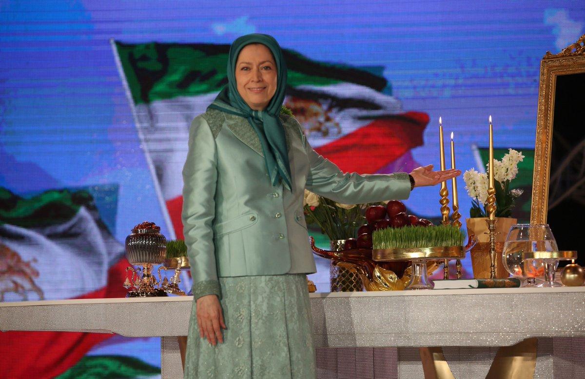 Some nice photos of  #NewYear ceremony in #Albania with #Iran opposition leader, #MaryamRajavi  #FreeIran #Nowruz<br>http://pic.twitter.com/eiXL31kSxf